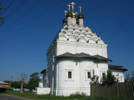 The Saint Nicolas Church in Posad